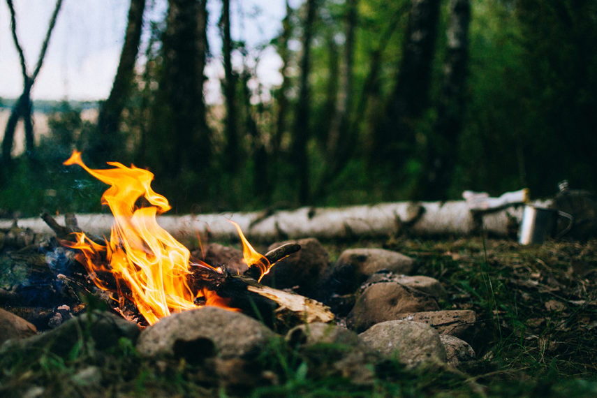 First Day Campfire