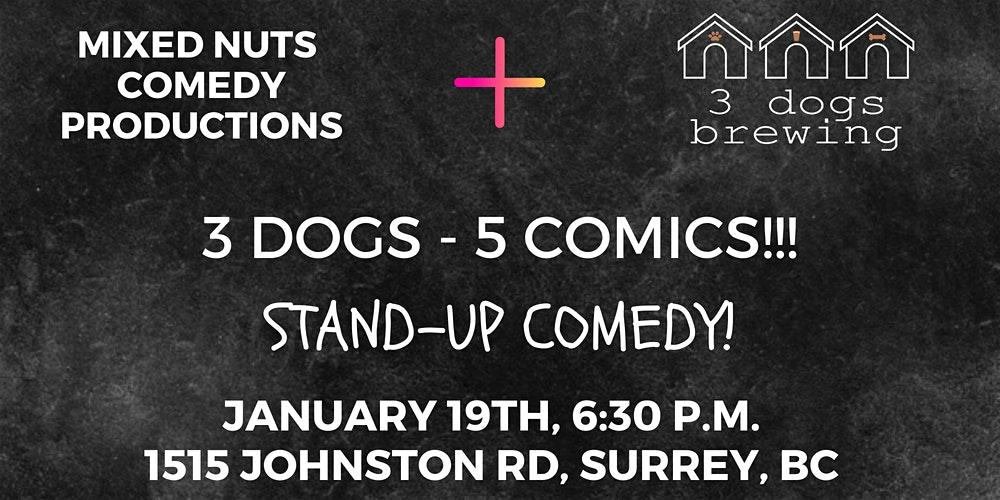 3 Dogs 5 Comics