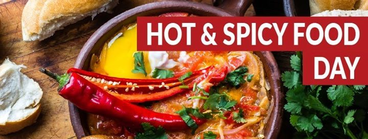 International Hot & Spicy Food Day at The Main Caf