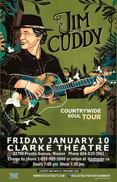 JIM CUDDY – COUNTRYWIDE SOUL TOUR
