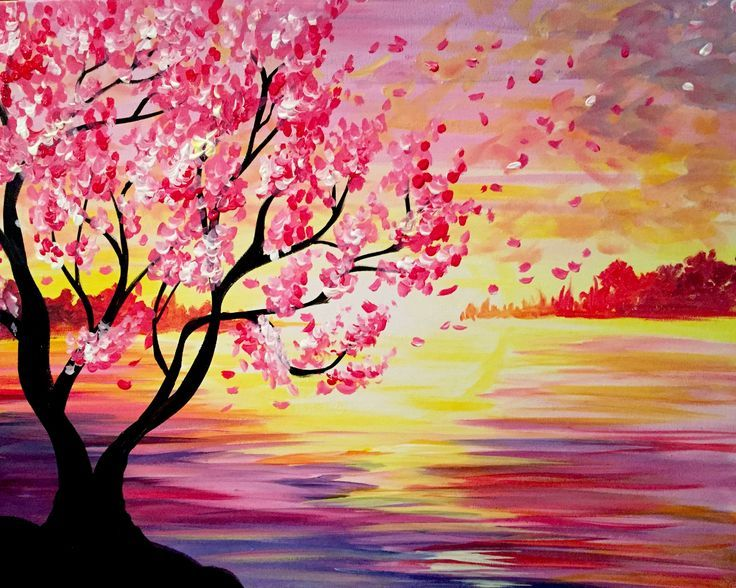 Paint Nite - Lost in the Sunset
