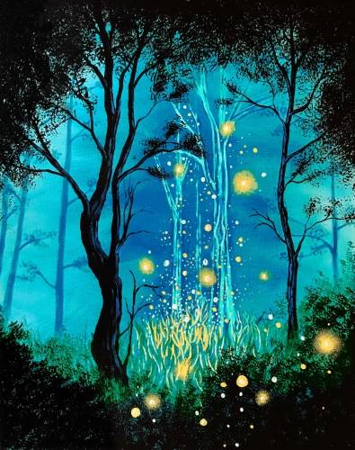 Paint Nite - There Is Magic
