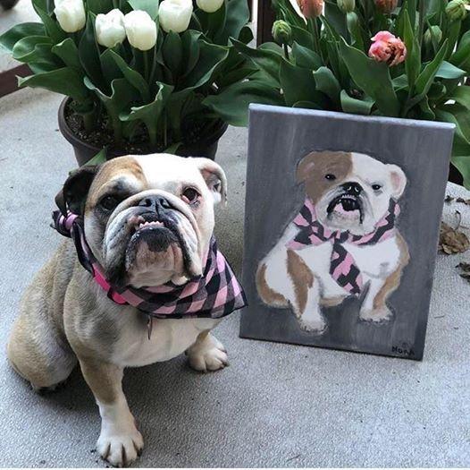 Paint your Pet's portrait with Zealous Art