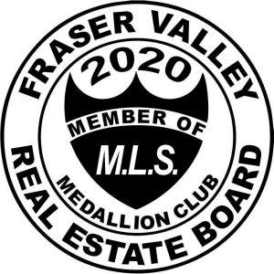 Fraser Valley Real Estate Medallion Award Mike Wilson